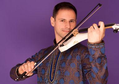 Bollywood Violin Player