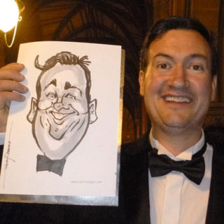 wedding caricaturist