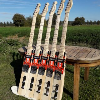 cricket bat guitars