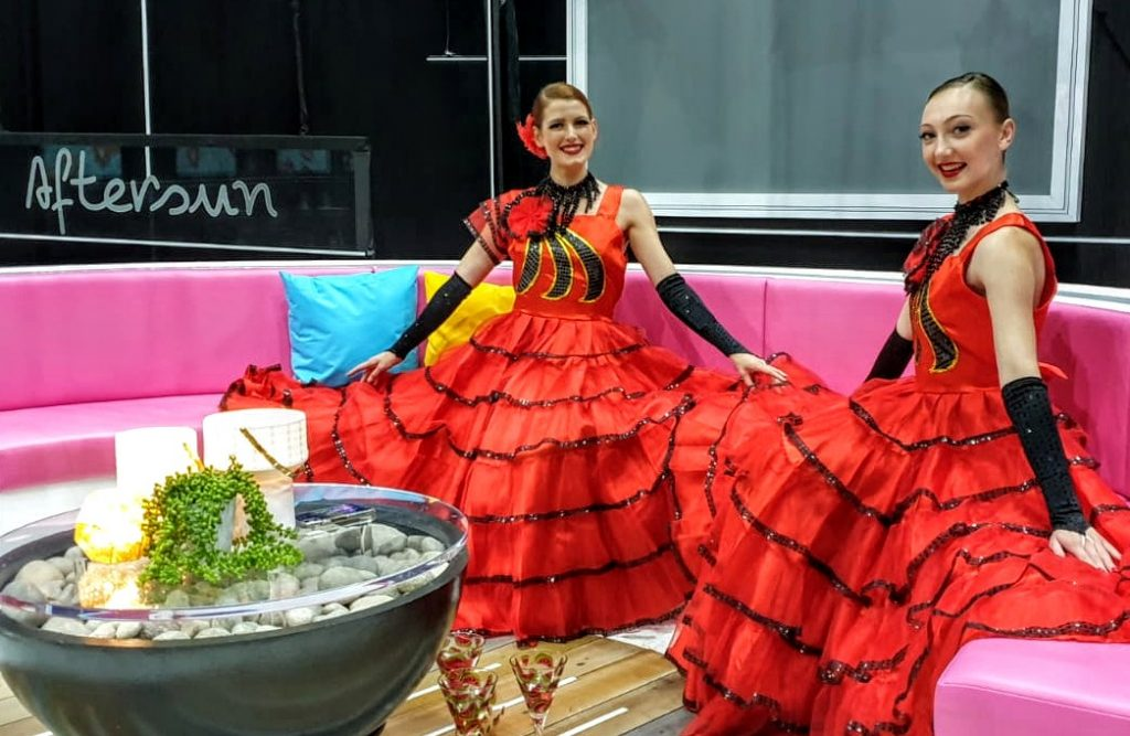 Spanish Dancers on Love Island's Aftersun