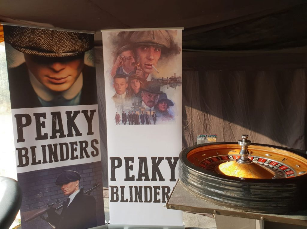 Peaky Blinders party banners
