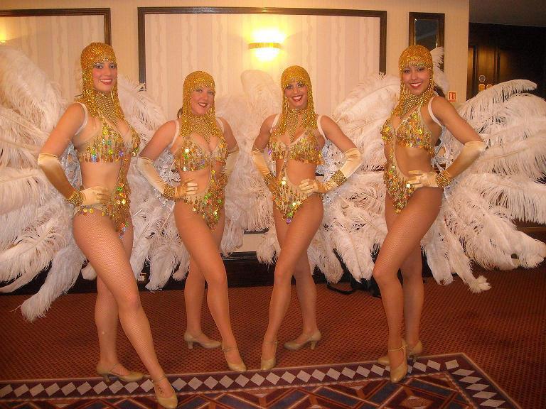 Peaky Blinders showgirls