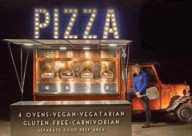 Pizza Van for wedding hire