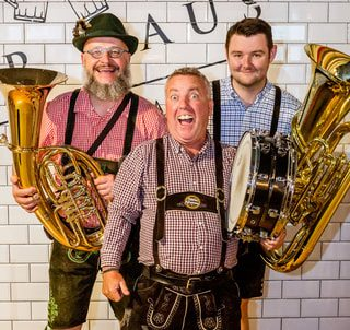 Oompah Band for Military Event Entertainment