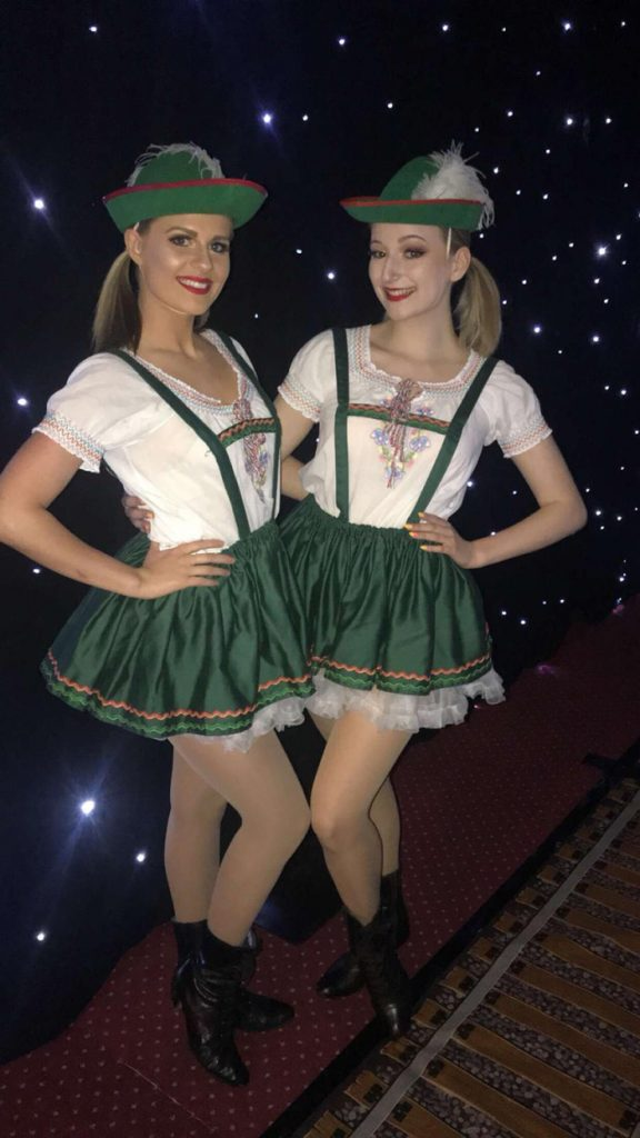 Bavarian Dancers for Military Event Entertainment