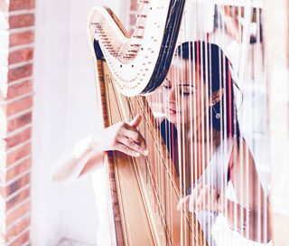 Musicians for small weddings - Harpist
